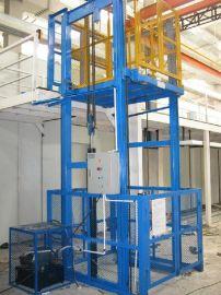 三层楼房仓库专用升降货梯,导轨式液压升降货梯,仓库升降货梯