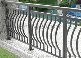华禹护栏弯弧锌钢阳台护栏阳台栏杆厂家直销