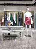 深圳高级毛针织女装品牌MIK & LA折扣货源