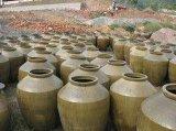 荣昌桂花陶器厂 天然釉 粗陶 陶器 酒坛