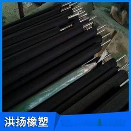 印刷机专用胶轴 托辊  橡胶包胶件 橡胶胶轴