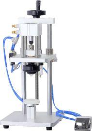 气动香水压盖机 玻璃瓶压盖机 香水泵头中套轧盖抓口机