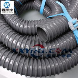 PVC牛筋管/塑筋缠绕软管/排水管/耐酸碱软管/韩国灰骨管25mm