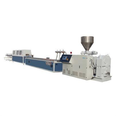 PVC、PP、PE、PC、ABS定制型材挤出生产线