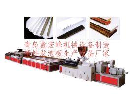 pvc木塑建筑模板板材生产线/木塑模板设备