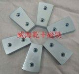 强力磁铁皮带输送带砖厂木材厂用大磁铁