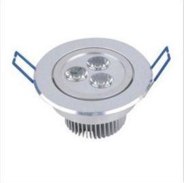 LED天花灯,3*1W,LED筒灯,工程装饰照明/深圳供应天花灯