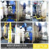 石油天然氣行業制氮機更換碳分子篩
