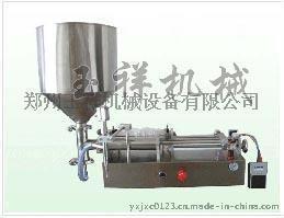 气动卧式膏液体酱体灌装机-河南郑州玉祥生产销售