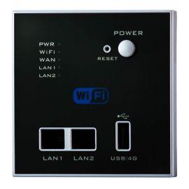 150M入墙式AP无线路由器/酒店开关面板式无线路由器/面板嵌入式USB无线路由器中继器