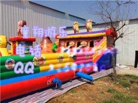 童朔002供应室外儿童玩的充气蹦蹦床 蹦蹦床价格