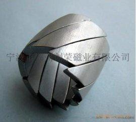 磁瓦磁钢烧结钕铁硼高强磁电机磁瓦