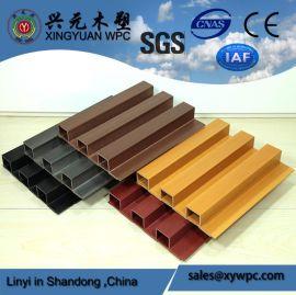 兴元 木塑装饰板 202高长城 202*30mm 生态木装饰板 绿可木