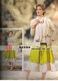 車軲轆品牌棉麻系列時尚休閒風女裝大碼女裝摺扣女裝走份批發