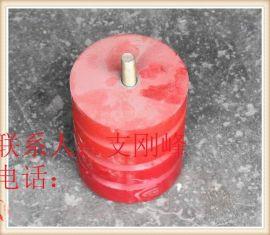 JHQ-A-13聚氨酯螺杆缓冲器,行车碰头,聚氨酯块,