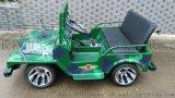 洛騎亞新型大中型電動吉普車卡丁車四輪兒童版廣場遊樂電動吉普車