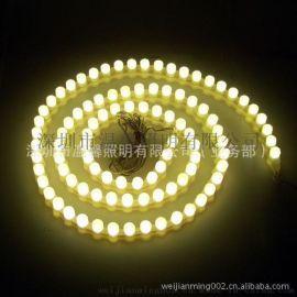 新款 LED乳白色硅胶防水灯带 F5长城软灯条 防水图案造型灯 高亮