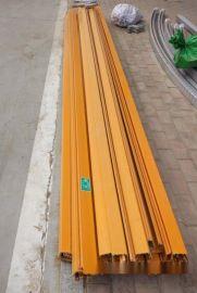 额定电流1250A单极滑触线 铝合金材质 向移动机械设备供电的单极滑触线 双梁起重机滑触线
