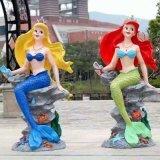 美人鱼模型出租,美人鱼模型租凭,北京美人鱼模型出租