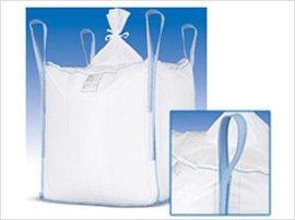 厂家直销 优质集装袋吨袋 四吊环上开口吨袋 塑料化工集装袋