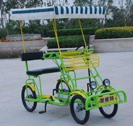 四轮自行车