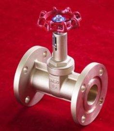 变压器配件美标带锁法兰式金属黄铜闸阀