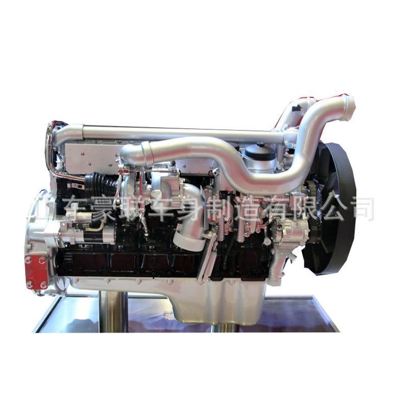 豪沃T5G发动机总成 中国重汽HW9511013M国五发动机总成及配件图片