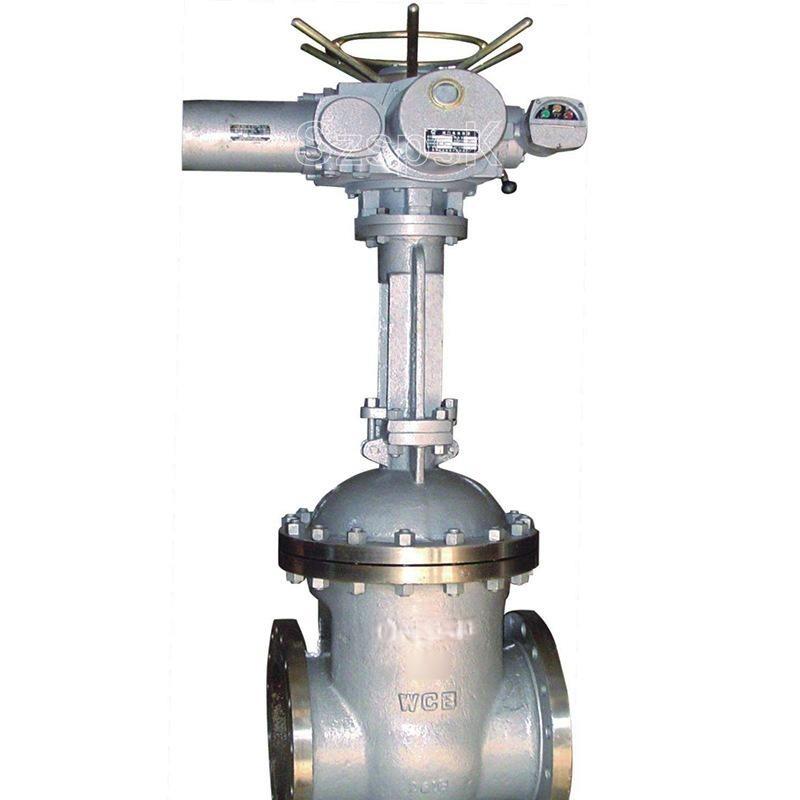 Z941h电动法兰铸钢高温高压硬密封暗杠闸阀DN80 100 150 200 300