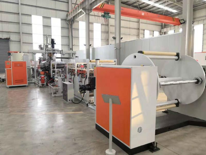 廠家直銷 PET印刷片材生產線 PET吸塑片材生產線歡迎來電