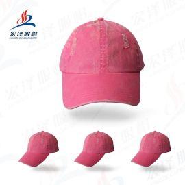 帽厂直销高档时尚拼布丝印帽子 纯棉棒球帽渔夫帽 广告帽