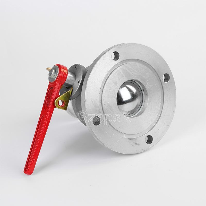 单向XC-05铝合金球阀DN40非标定制油罐车加油站2寸3寸4寸DN50 65