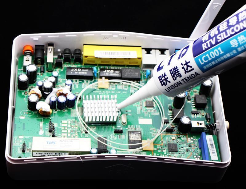 高导热电子硅胶 电源功率模块导热硅胶 用于导热 粘接 密封