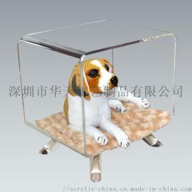 亚克力宠物窝宠物窝 有机玻璃宠物窝 定制宠物窝