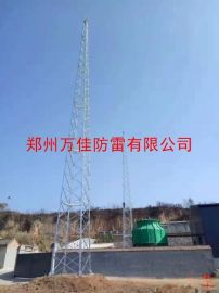 25米GFL1-7、GFL1-8四柱钢结构避雷针塔