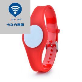 IC/ID射频手腕带 RFID手腕带 PVC防水智能手腕带 NFC智能识别腕带