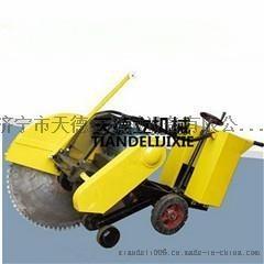 1000型电动混凝土路面切割机40公分切割15KW地面切缝机