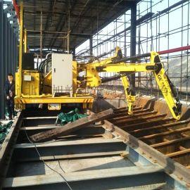 20吨打砂车间搬运车钢卷过跨小车25吨大包淀粉搬运车钢包车CAD图纸