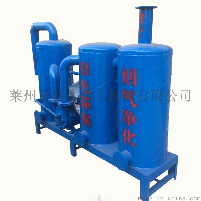 廢舊塑料造粒廢煙異味水處理設備