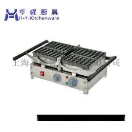旋转华夫炉价格,上海单头华夫炉厂家,不锈钢双头华夫炉,咖啡店心形华夫饼机