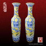3米景德鎮五彩雕刻落地大花瓶廠家,陶瓷花瓶工藝