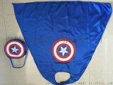 熱銷節目表演發光服裝披風兒童男女超人美國隊長蝙蝠俠蜘蛛俠鬥篷鋼鐵