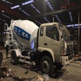 億立4m3混凝土攪拌罐車 小型混凝土攪拌車廠家 價格