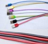渔网编织micro usb安卓手机数据线生产厂家
