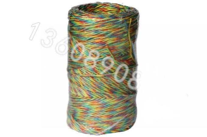 工廠直銷純新料打捆繩 結束帶 捆紮繩撕裂膜彩色打包繩