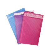 彩色共挤膜气泡信封袋 共挤膜服装包装气泡袋 可定制尺寸颜色