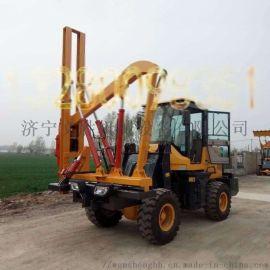 铲车式公路护栏钻孔机设计新颖