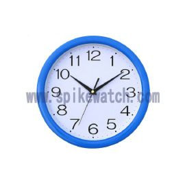 钟表厂家定制新款圆形塑胶时尚静音挂钟