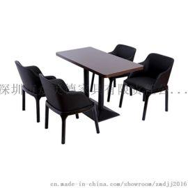 众美德厂家**餐厅实木餐桌,现代餐桌椅组合,餐桌橡木椅子桌子定做