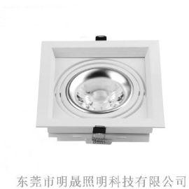明晟模組化豆膽燈銀色簡約造型