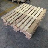 日照厂家生产欧标木托盘木头出口四面进叉卡板仓储